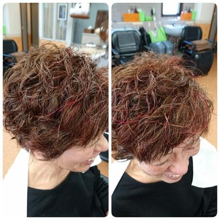 カラー増毛