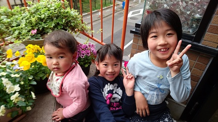 うちの三姉妹♪