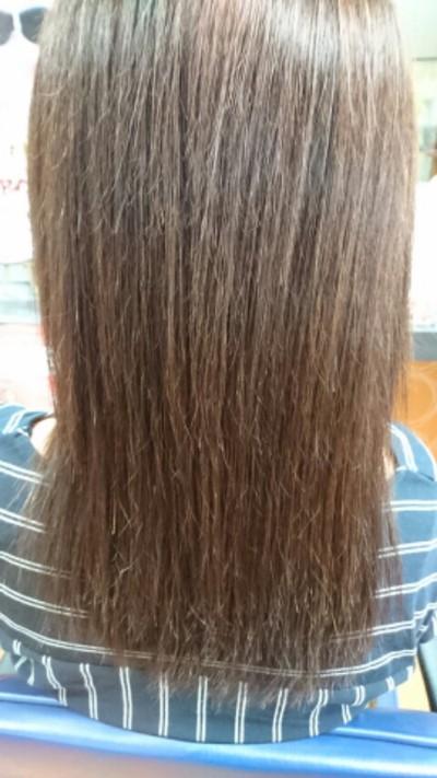 髪がしっかりしてきた~