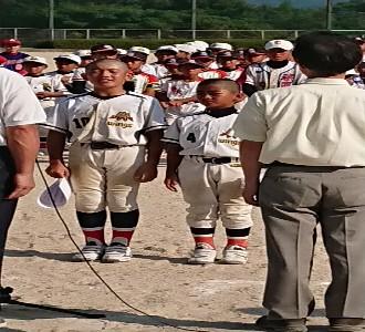 第39回 安佐南区子供会連合会 夏季球技大会…にて!