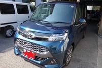 今日は新車のタンクに板金塗装後のスペーシアに、MJマガジン営業車のウインドリペア等の話です。