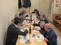 蕨市の製造業の集まり蕨鉄工業協同組合の新年顔合わせ会