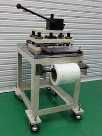 切断打抜きメーカーの手動式打抜き装置(コンパクトタイプ)