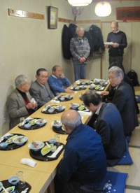 蕨鉄工業協同組合の新年顔合わせ会に参加しました