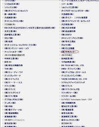 第18回 フラットパネル ディスプレイ研究開発・製造技術展出展リスト