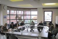 蕨鉄工業協同組合 理事会の風景