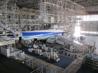 ANA機体整備工場視察研修会に参加しました