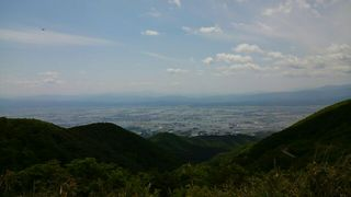 山の頂からの景色