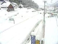 故郷頓原の雪