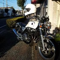 格好良いオートバイのお客様