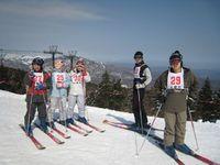 スキー訓練