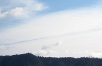 逆飛行機雲