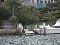 シドニー近郊ミドルハーバーでの海洋自然葬(散骨)