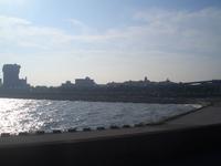 初秋の江ノ島沖