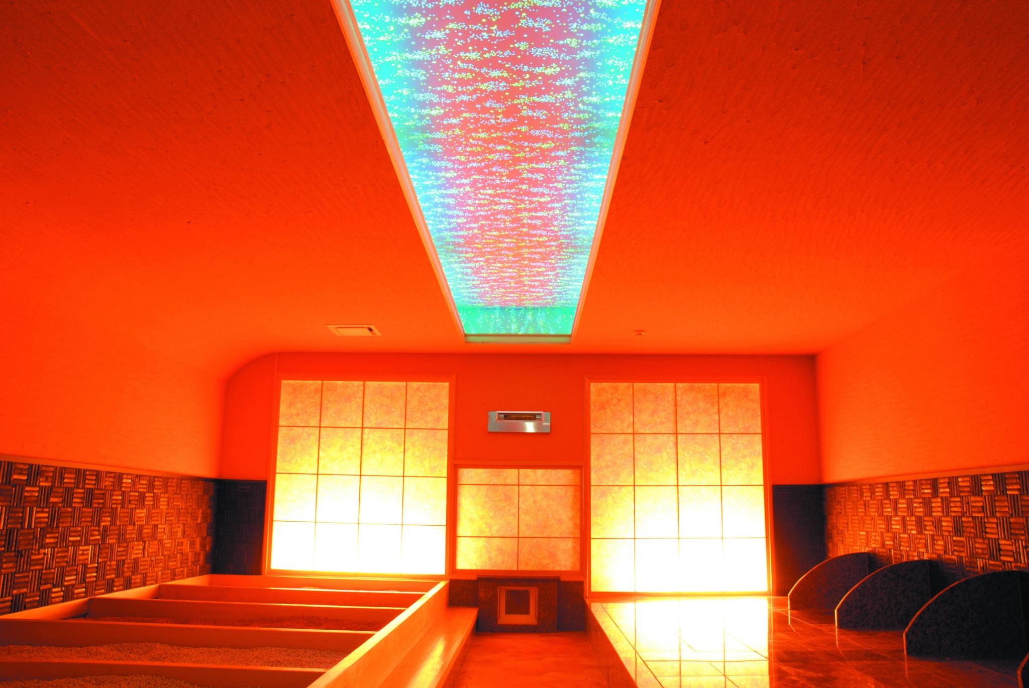岩盤(光の部屋)
