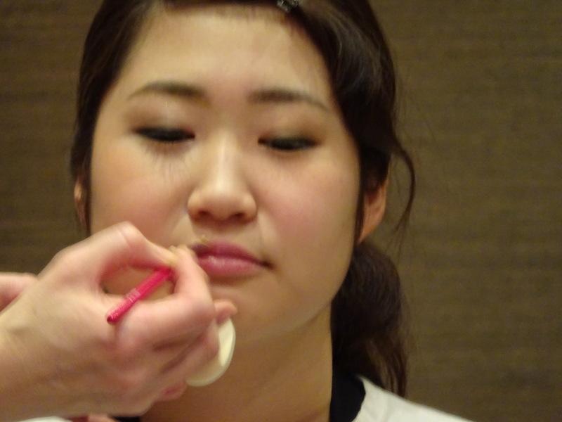 坂井由紀子 メイク講習会