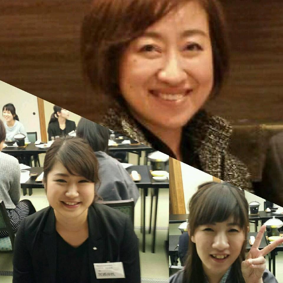 メイク講習会 坂井由紀子先生とモデルの方