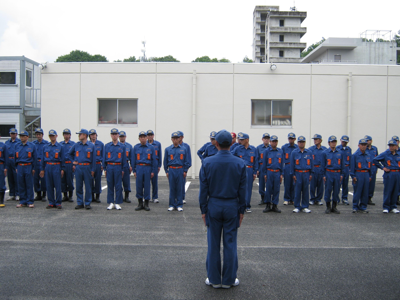 消防団員特別教育「一日入校」訓練