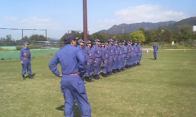 消防団初級・中級幹部教育訓練