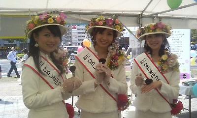 2012ひろしまフラワーフェスティバルと熊野化粧筆