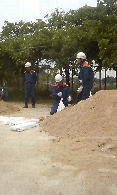 土嚢の作成