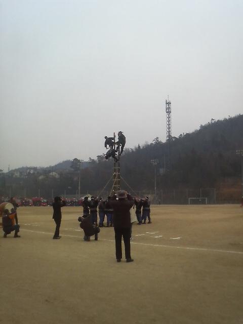 熊野町出初式