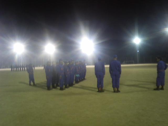 2013 熊野町消防団 規律訓練