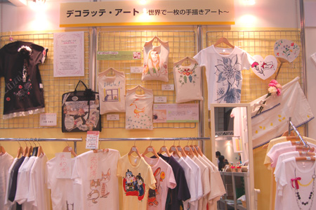 日本ホビーショーでTシャツワークショップ@理想ベック