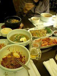 錦糸町丸井にある韓国家庭料理『妻家房』でディナー