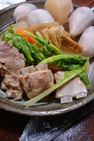 奄美大島の伝統料理 塩豚