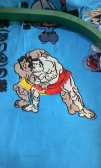 岡本洋品店、新作、オリジナル刺しゅう『大相撲 取り組み2』。