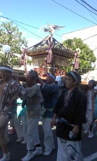 和楽備神社、宮入りから帰ってきました!