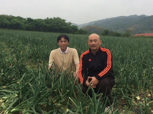 有機玉葱の産地へ