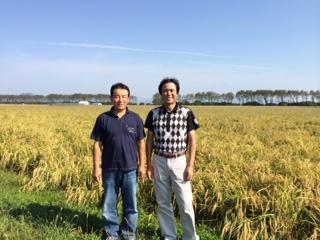 有機米の産地に行ってきました。