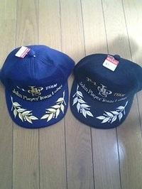 刺繍屋岡本のサイトを見て、キャップ(帽子)をご注文の長瀬様