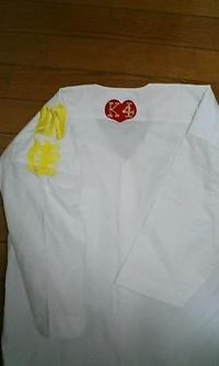お祭りシャツMサイズ4着に、刺繍をご注文のお客様へ。