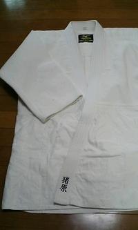 道着に、即日ネーム刺繍