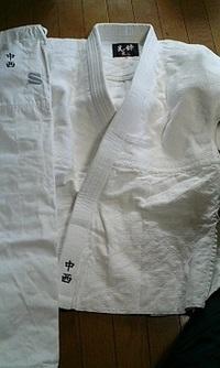 道着にネーム刺繍のご注文