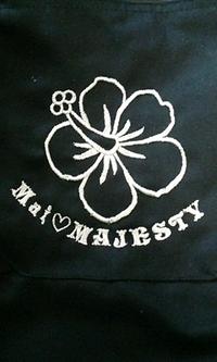 つなぎの後ろ・袖部分に、刺繍をご注文されたお客様へ!