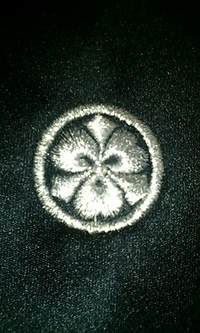 ご来店いただき、ネクタイ6本に家紋の刺繍をご注文のお客様へ!