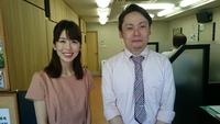 愛媛朝日テレビの取材