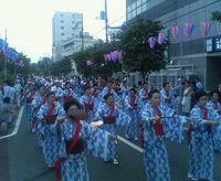 手踊り行進