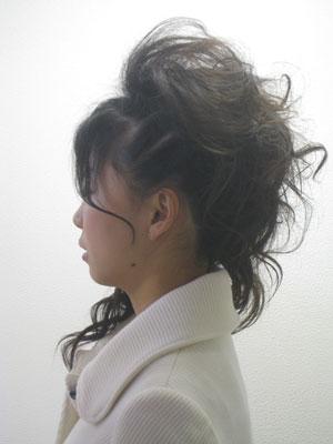 エクステ 縮毛矯正 美容室 アップスタイル ブレイズ
