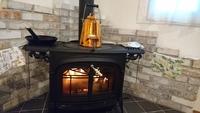 薪ストーブの暖かさ