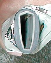 模造刀:修理、鯉口の緩み