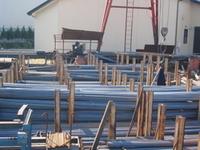 鉄筋工事及び鋼材販売の株式会社遊馬工務店の工場